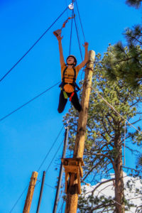 Leap of Faith Ropes Course