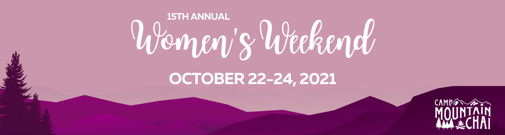 15th Annual Women's Weekend Banner